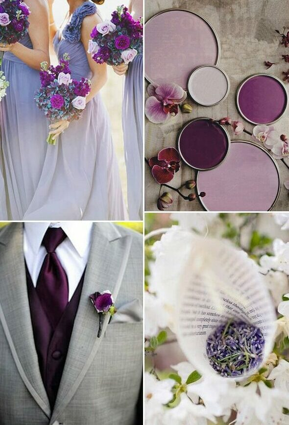 matrimonio in autunno purple and grey fall wedding e1593509007316 - Matrimonio in autunno: colori e dettagli per le tue nozze