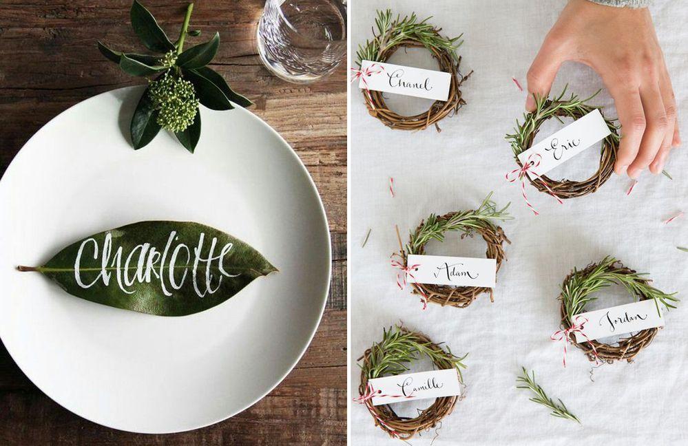 Tocco Green - Segnaposto Matrimonio creativi fai-da-te