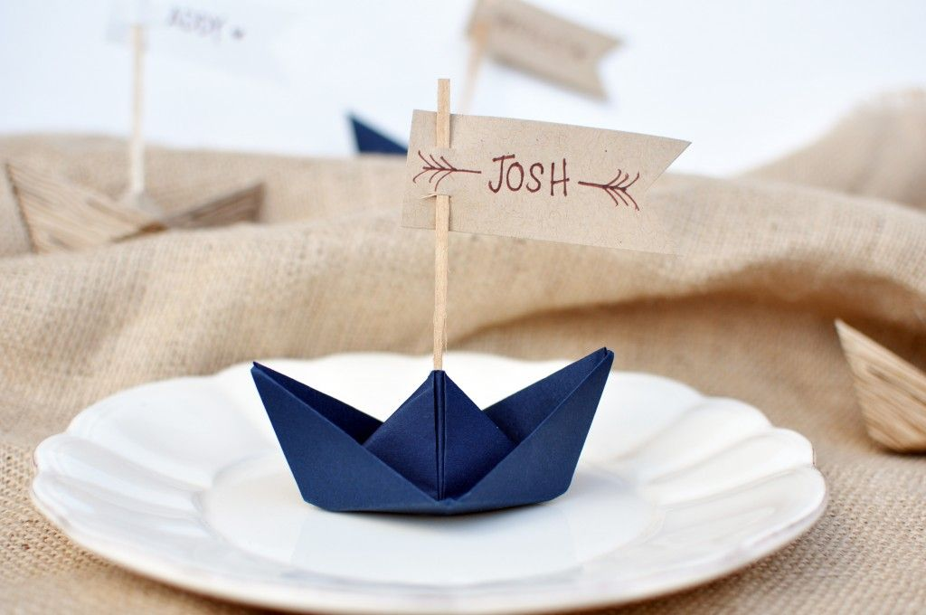 segnaposto matrimonio mare - Segnaposto Matrimonio creativi fai-da-te