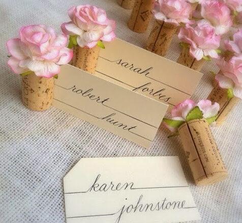 segnaposto matrimonio sughero e1587041861851 - Segnaposto Matrimonio creativi fai-da-te