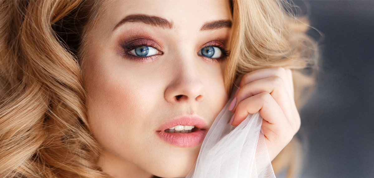 Trucco sposa occhi azzurri